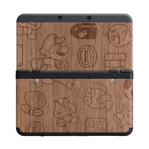 New Nintendo 3DS Cover Plates, Mario wooden