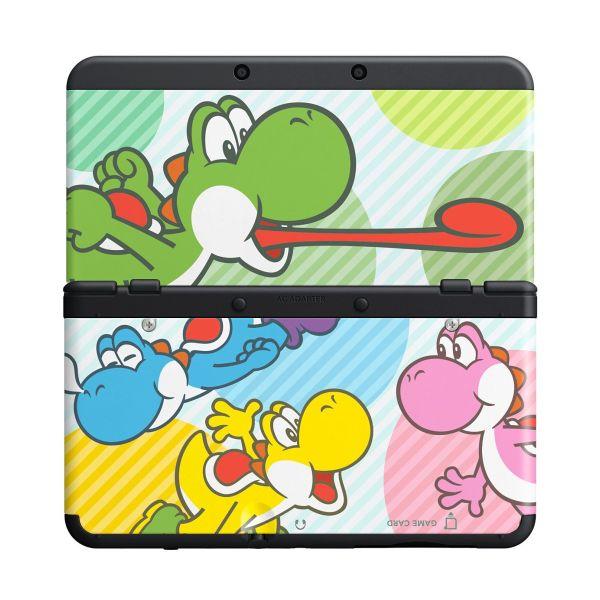 New Nintendo 3DS Cover Plates, multicolor Yoshi