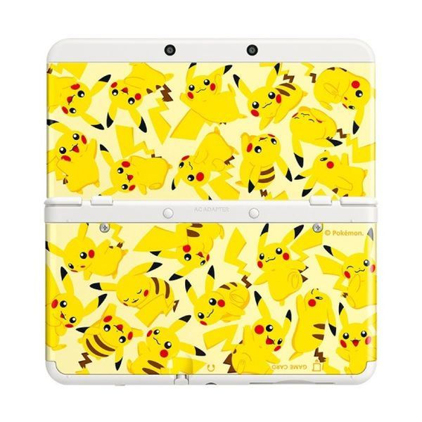 New Nintendo 3DS Cover Plates, Pikachu