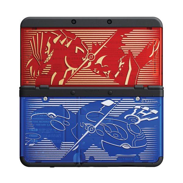 New Nintendo 3DS Cover Plates, Pokemon Omega Ruby/Alpha Sapphire