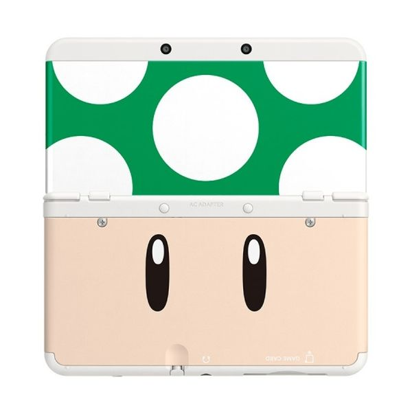New Nintendo 3DS Cover Plates, Toad green