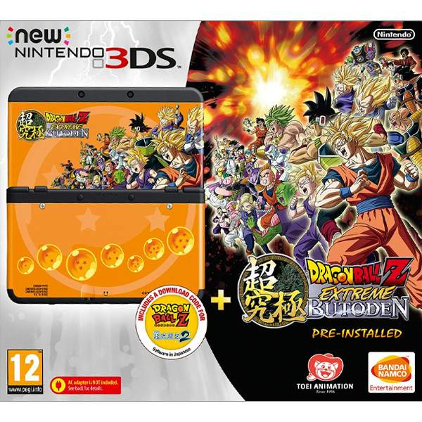 New Nintendo 3DS (Dragon Ball Z: Extreme Butoden Special Edition)