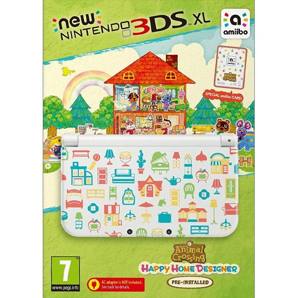 New Nintendo 3DS XL (Animal Crossing: Happy Home Designer Special Edition)