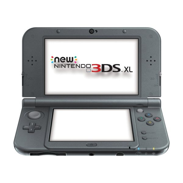 New Nintendo 3DS XL, metallic black