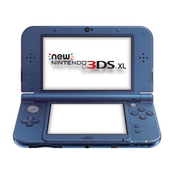 New Nintendo 3DS XL, metallic blue
