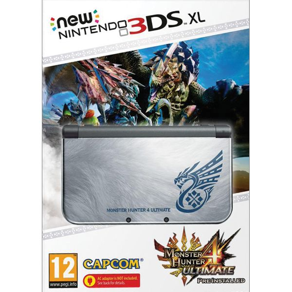 New Nintendo 3DS XL (Monster Hunter 4: Ultimate Special Edition)