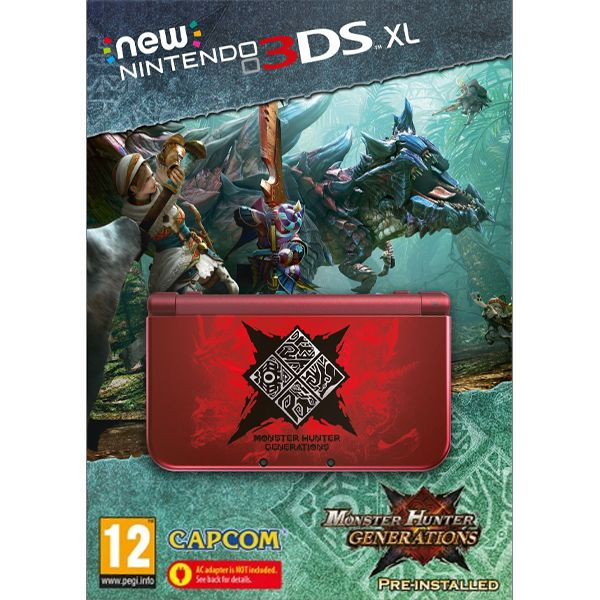 New Nintendo 3DS XL (Monster Hunter Generations Special Edition)