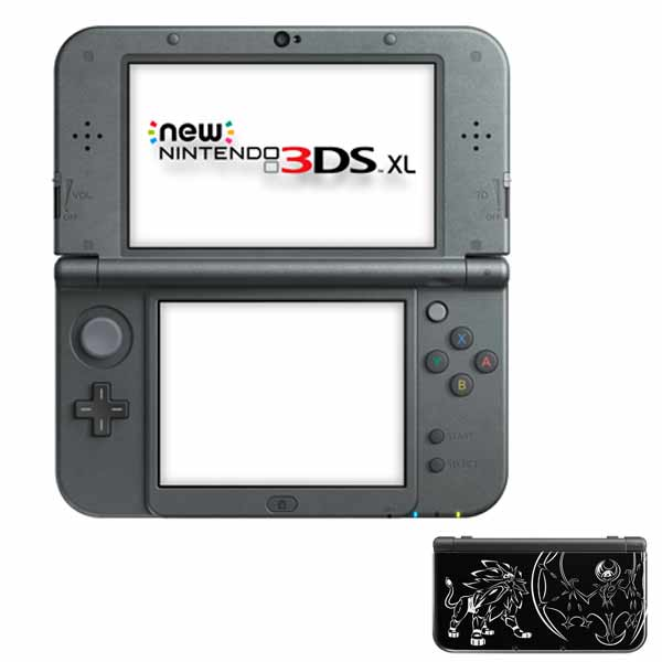 New Nintendo 3DS XL, Solgaleo and Lunala (Limited Edition)