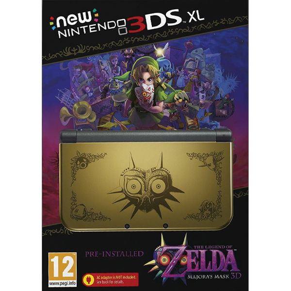New Nintendo 3DS XL (The Legend of Zelda: Majora's Mask 3D Special Edition)