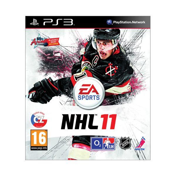 NHL 11 CZ-PS3 - BAZÁR (použitý tovar)