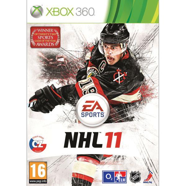 NHL 11 CZ [XBOX 360] - BAZÁR (použitý tovar)