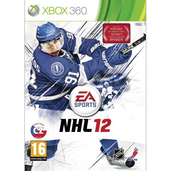 NHL 12 CZ- XBOX 360- BAZÁR (použitý tovar)