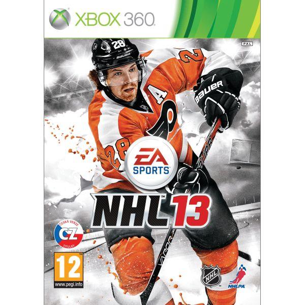 NHL 13 CZ- XBOX 360- BAZÁR (použitý tovar)