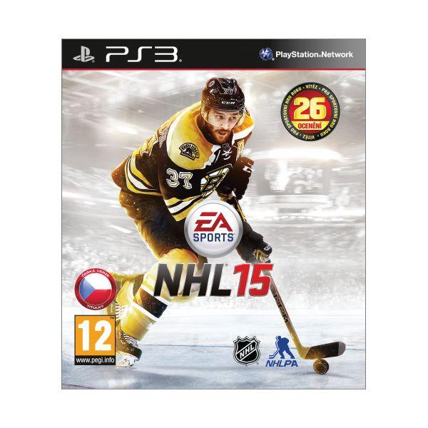 NHL 15 CZ [PS3] - BAZÁR (použitý tovar)