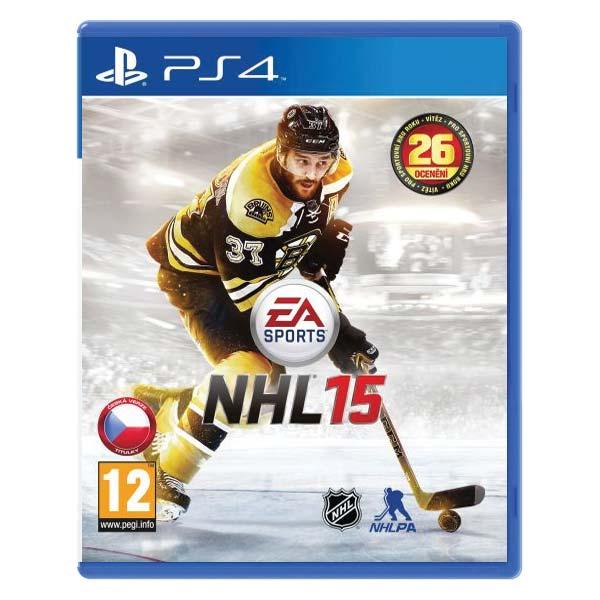 NHL 15 [PS4] - BAZÁR (použitý tovar)
