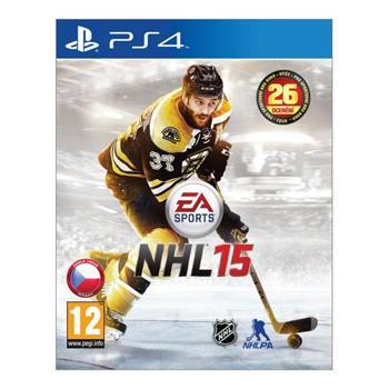 NHL 15 CZ [PS4] - BAZÁR (použitý tovar)
