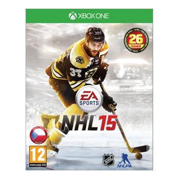 NHL 15 CZ [XBOX ONE] - BAZÁR (použitý tovar)