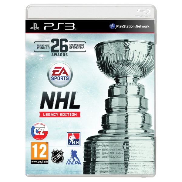 NHL 16 CZ (Legacy Edition) [PS3] - BAZÁR (použitý tovar)