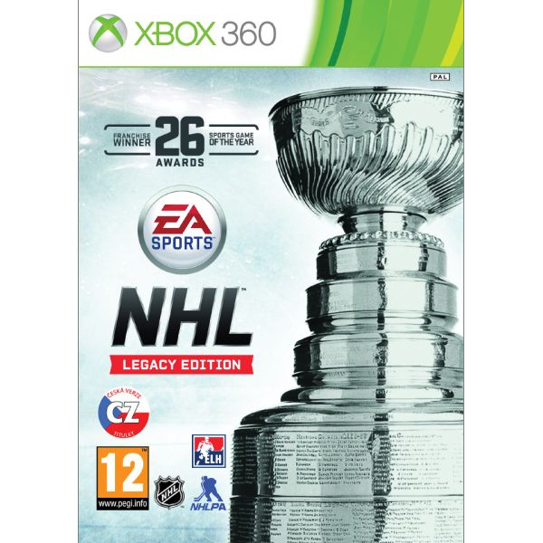 NHL 16 CZ (Legacy Edition) [XBOX 360] - BAZÁR (použitý tovar)