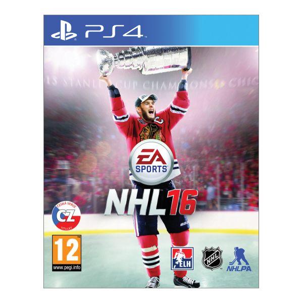 NHL 16 CZ [PS4] - BAZÁR (použitý tovar)