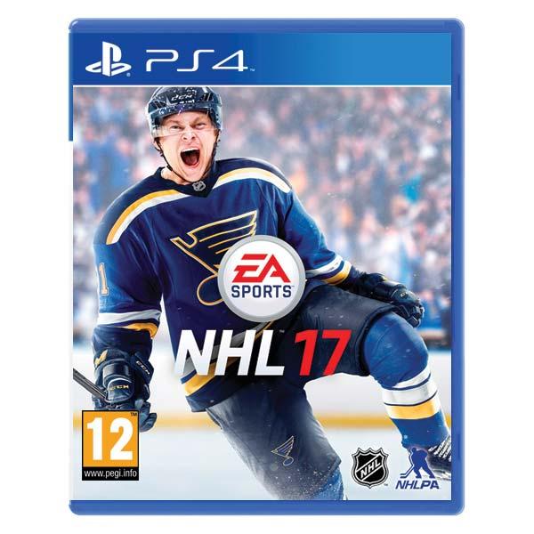 NHL 17 CZ [PS4] - BAZÁR (použitý tovar)