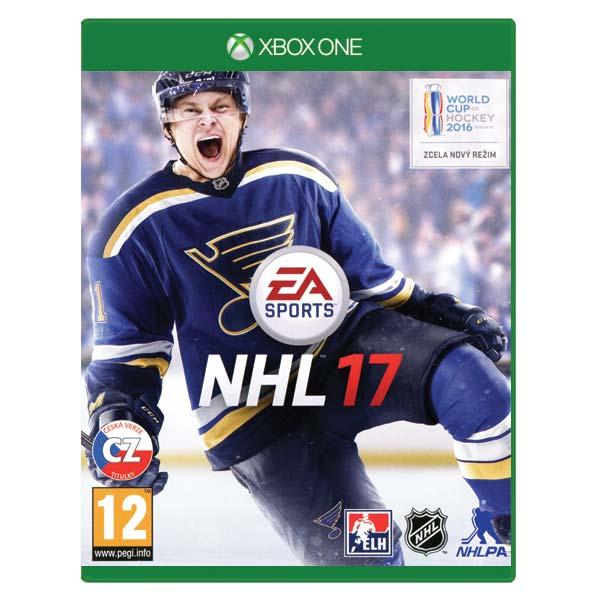NHL 17 CZ [XBOX ONE] - BAZÁR (použitý tovar)