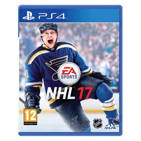 NHL 17 [PS4] - BAZÁR (použitý tovar)