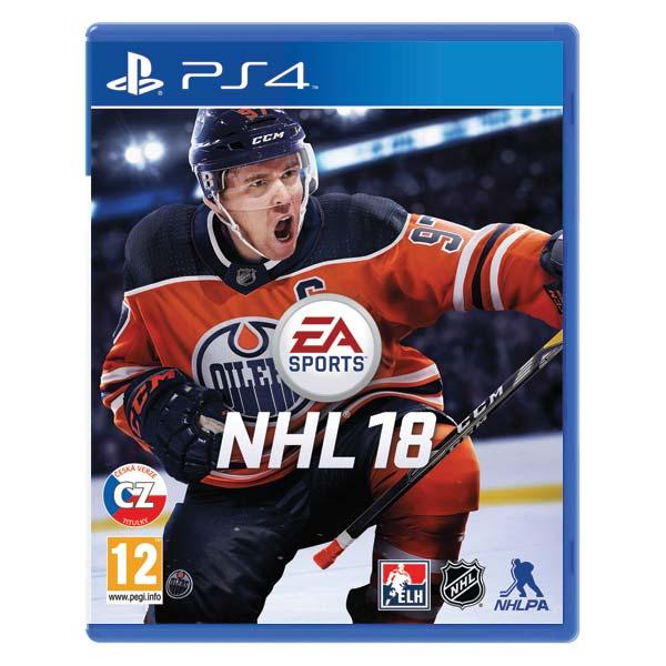 NHL 18 CZ [PS4] - BAZÁR (použitý tovar)