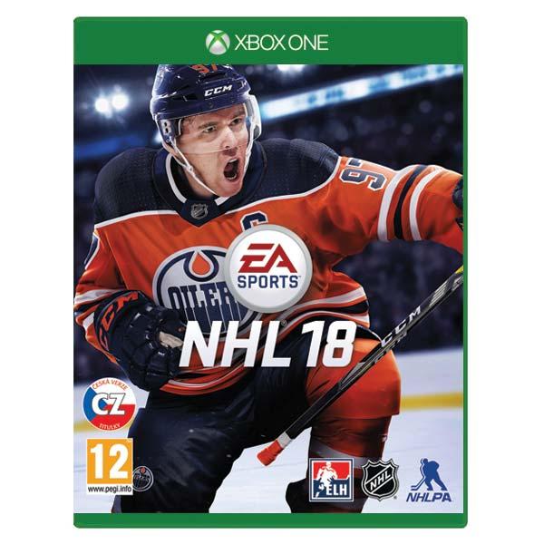 NHL 18 CZ [XBOX ONE] - BAZÁR (použitý tovar)