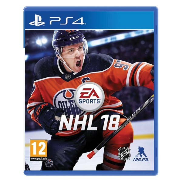 NHL 18 [PS4] - BAZÁR (použitý tovar)