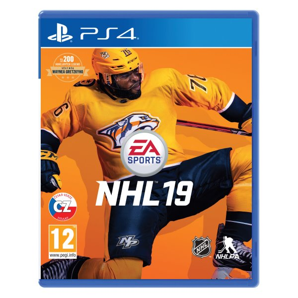 NHL 19 CZ [PS4] - BAZÁR (použitý tovar)