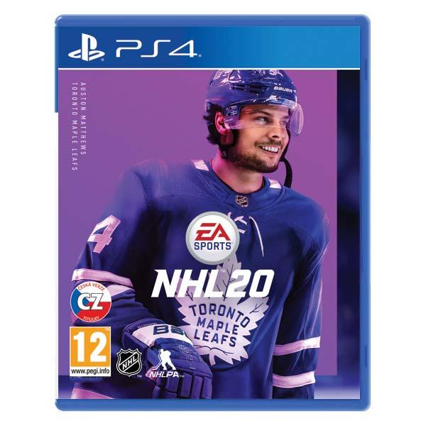 NHL 20 CZ [PS4] - BAZÁR (použitý tovar)