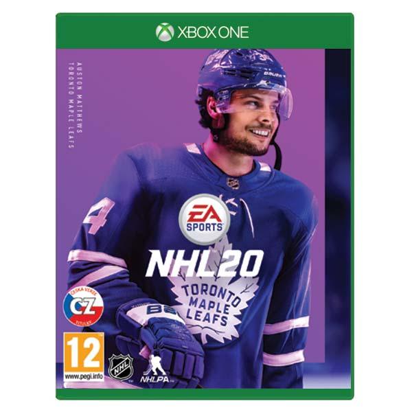 NHL 20 CZ [XBOX ONE] - BAZÁR (použitý tovar)