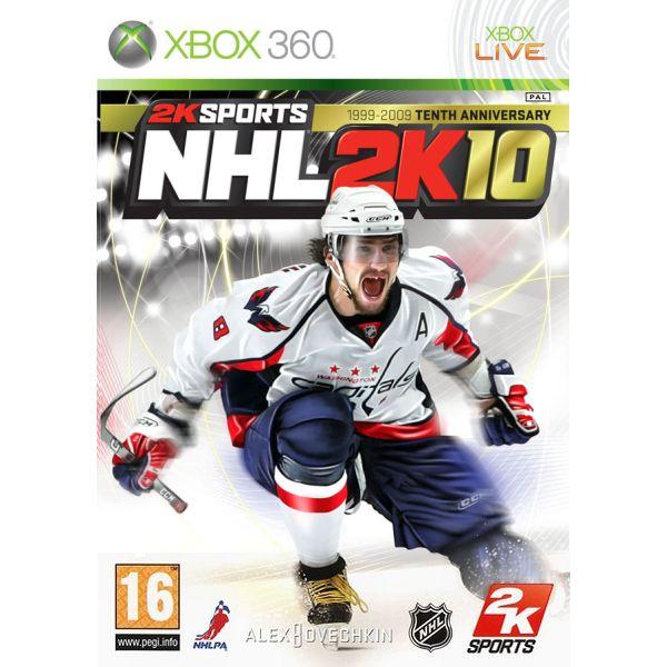 NHL 2K10 [XBOX 360] - BAZÁR (použitý tovar)