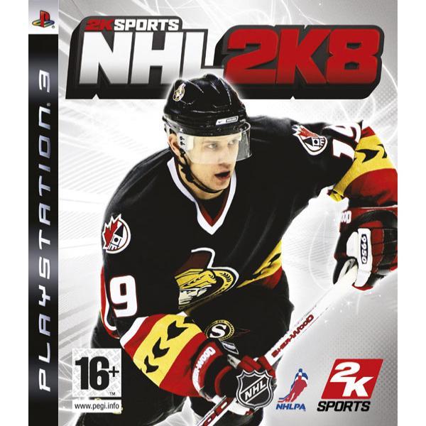 NHL 2K8 PS3 - BAZÁR (použitý tovar)