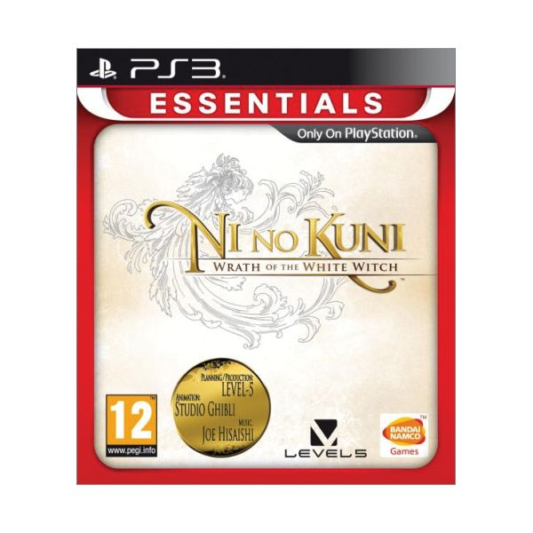 Ni no Kuni: Wrath of the White Witch [PS3] - BAZ�R (pou�it� tovar)