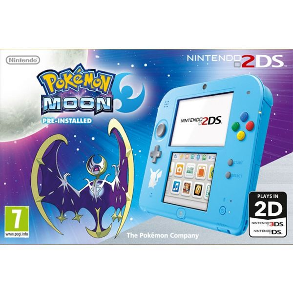 Nintendo 2DS (Pokémon Moon Special Edition)
