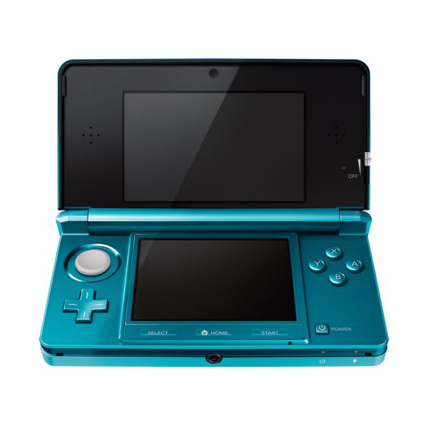 Nintendo 3DS, aqua blue