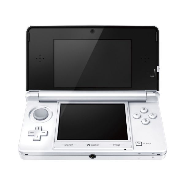 Nintendo 3DS, ice white