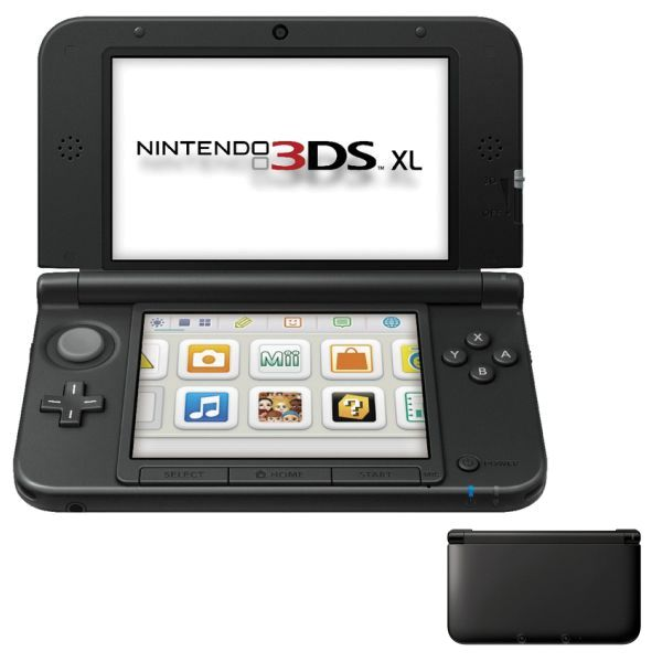 Nintendo 3DS XL, black