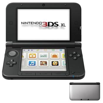 Nintendo 3DS XL, silver/black + The Legend of Zelda: A Link Between Worlds