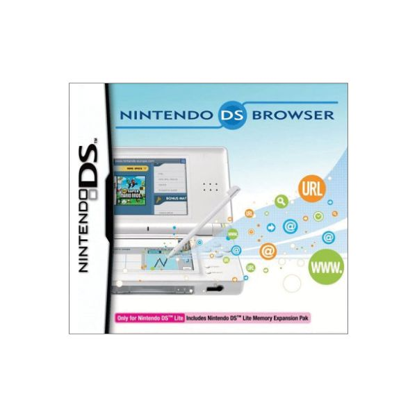 Nintendo DS Lite Browser + memory Expansion pack