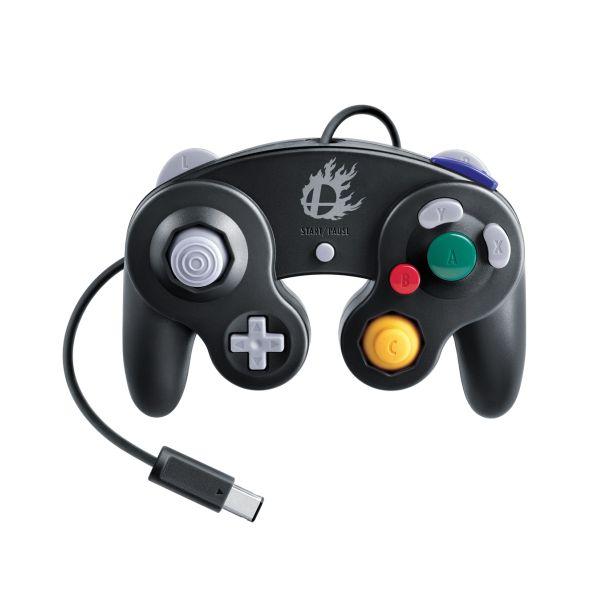 Nintendo GameCube Controller, black (Super Smash Bros. Edition)