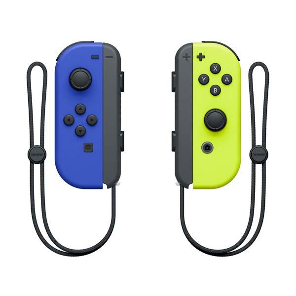 Olvádaèe Nintendo Joy-Con Pair, modrý / neónovo žltý