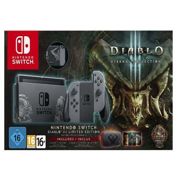 Nintendo Switch (Diablo Limited Edition) + Diablo 3 (Eternal Collection)