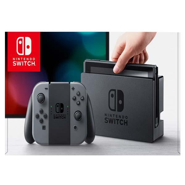 Nintendo Switch, grey - BAZÁR (použitý tovar , zmluvná záruka 12 mesiacov)