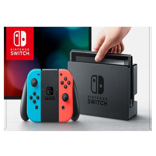 Nintendo Switch, neon