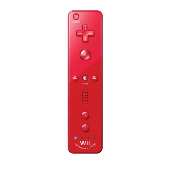 Nintendo Wii Remote Controller Plus, red (Limited Edition)