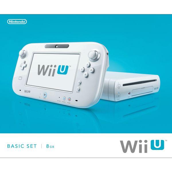 Nintendo Wii U Basic Set 8GB, white