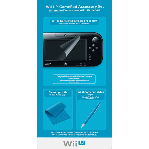 Nintendo Wii U GamePad Accessory Set